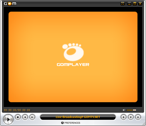 GOM Player screenshot (481 pix)