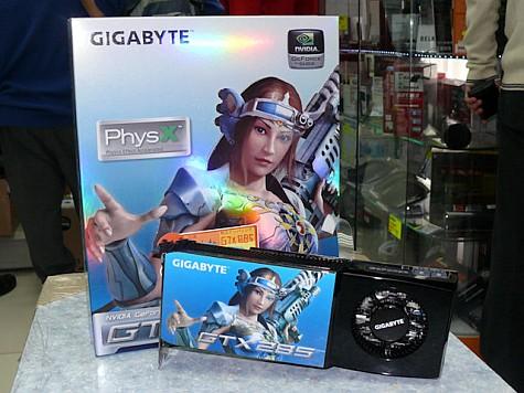 Gigabyte GTX285