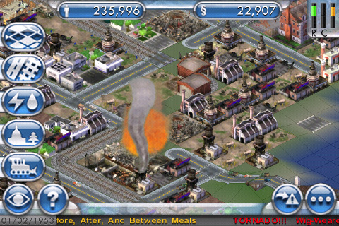 Simcity for iPhone/iPod Touch