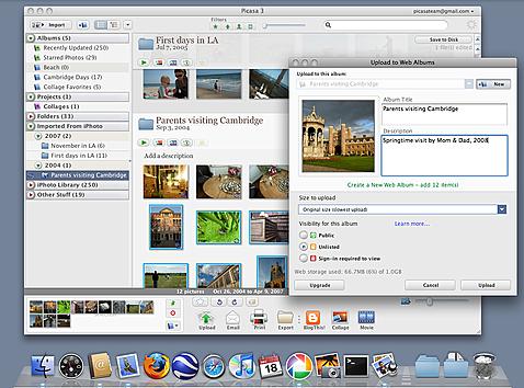 Google Picasa for Mac
