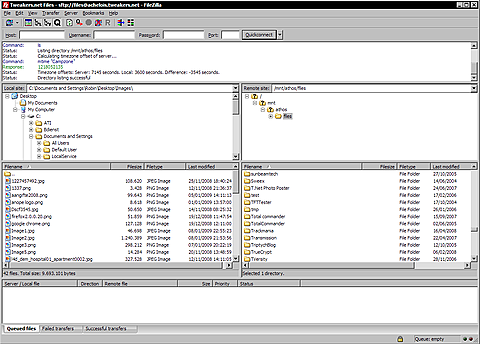 Filezilla 3.2.0 stable