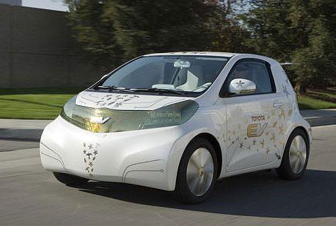 Toyota Wil Vanaf 2012 Volledig Elektrische Auto Verkopen Beeld En