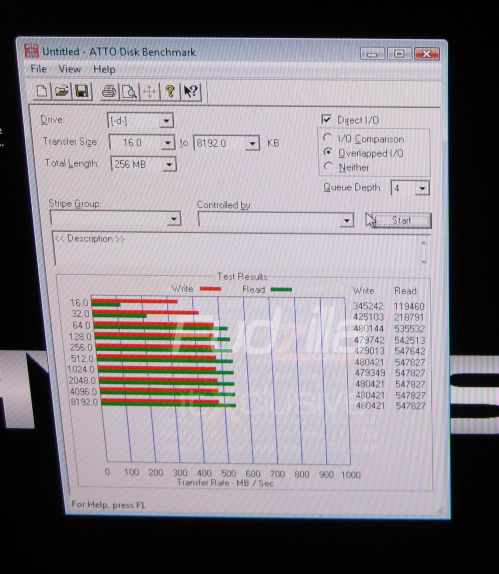 OCZ Vertex 2-ssd's benchmark