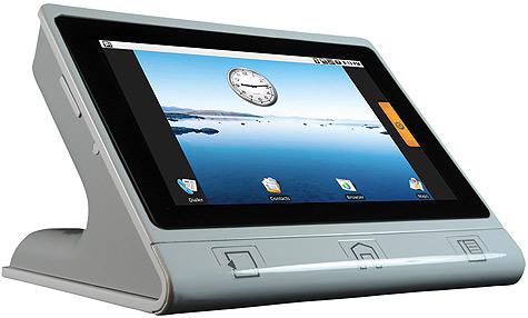 Nimble desktoptelefoon van Touch Revolution op basis van Android OS