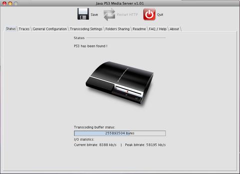 PS3 Media Server 1.01 screenshot (481 pix)