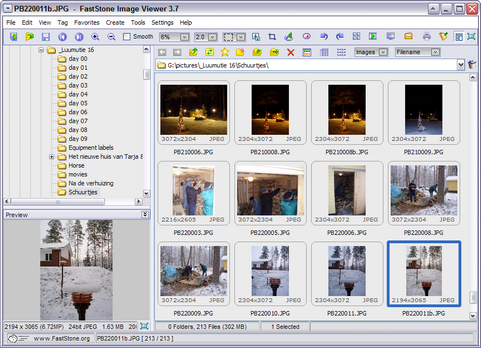 FastStone Image Viewer 3.7 screenshot (481 pix)