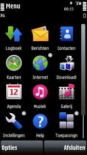 Symbian S60v5-interface