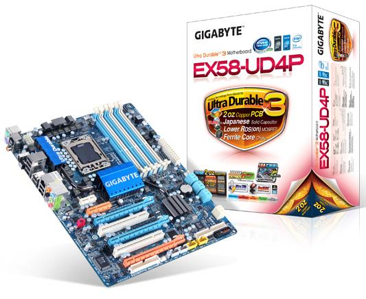 Gigabyte EX58-UD4P Box