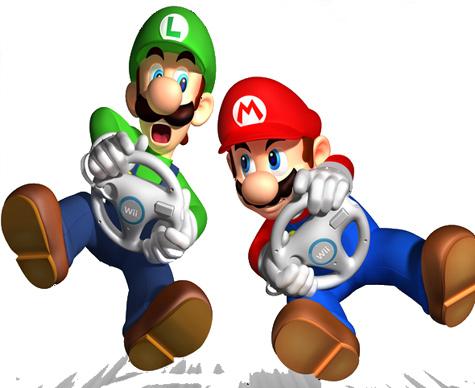 Mario Kart voor de Wii