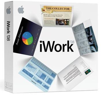 Apple iWork '08 box