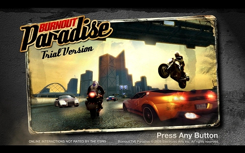 Burnout Paradise: The Ultimate Box demo