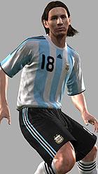 Lionel Messi in PES 2009