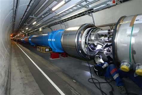 LHC magneten