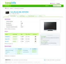 Koopinfo productpagina