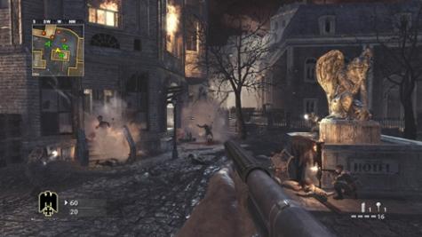 Call of Duty World at War - Nightfire map