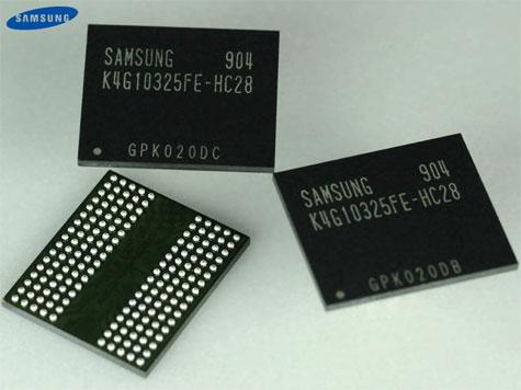 Samsung gddr5-geheugen
