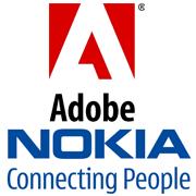 Adobe Nokia logo´s