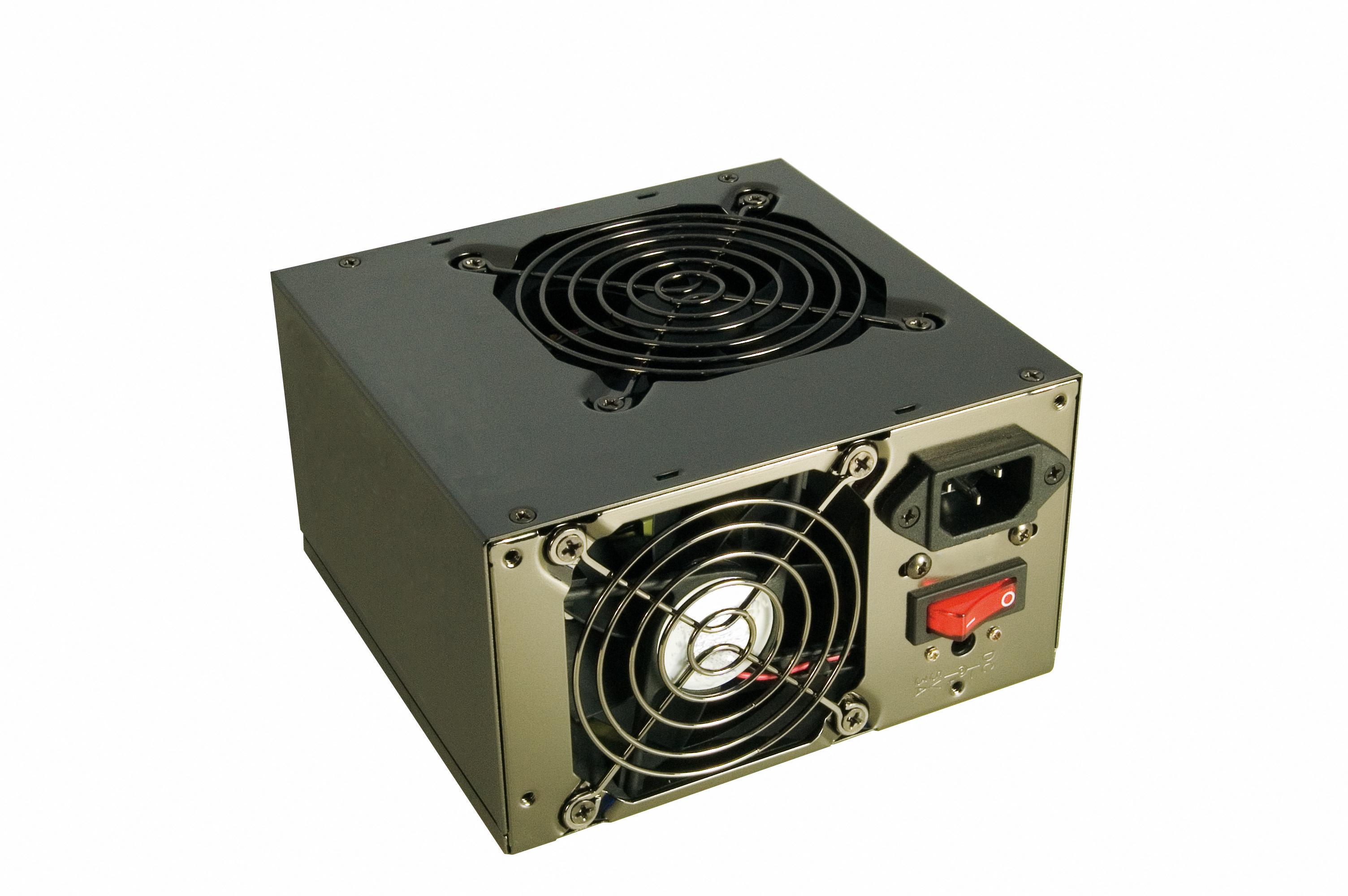 Specific Fan Power : Sweex power supply watt dual fan specificaties