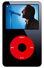 U2 op iPod
