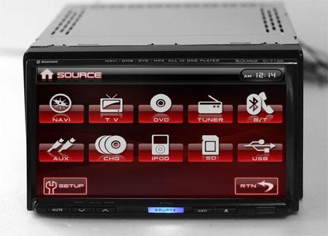 RUNZ CI-7100 Car Infotainment System
