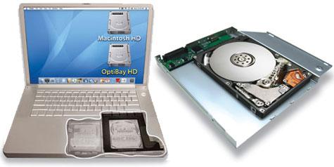 MCE OptiBay Hard Drive