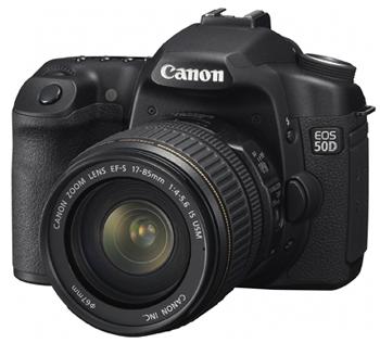 Canon Eos 50D inleiding