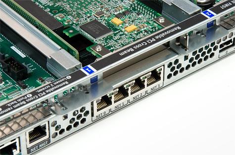 Sun Fire X4150 netwerkpoorten