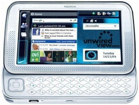 Impressie Nokia Sparrow