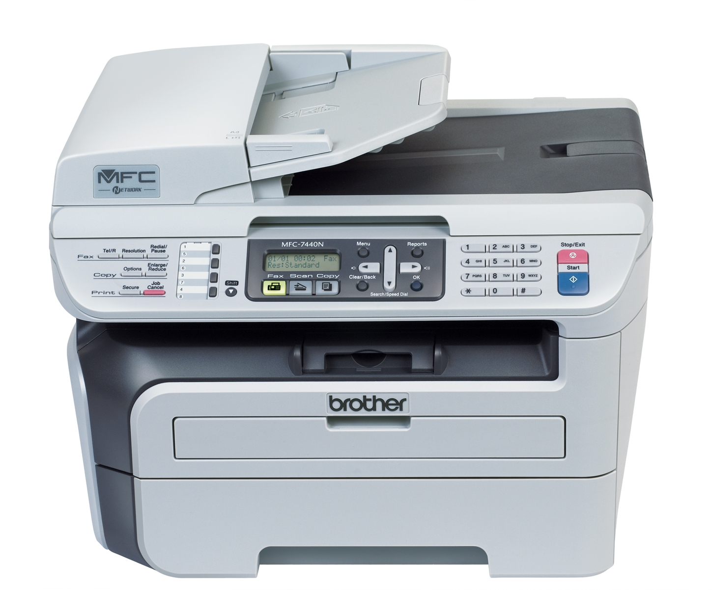 Brother mfc-7440n drivers download update brother software.