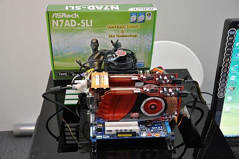 N7AD-SLI met HD4850's in CrossFire