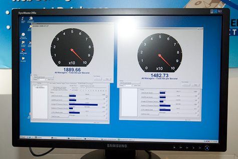 Adaptec Intelligent Tiered Provisioning IOMeter demo