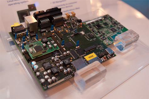 Magneti Marelli demosysteem met Intel Atom