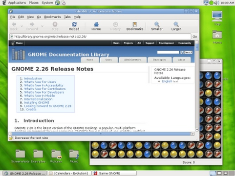Gnome 2.26 desktop (481 pix)