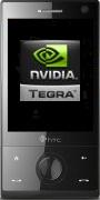Mockup: HTC Touch Diamond en Nvidia-logo