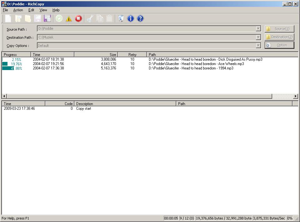 Software-update: Microsoft RichCopy 4 0 211 - Computer