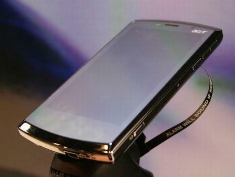 Onaangekondigde Acer-smartphone