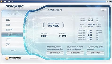 Vantage-score HD 4890