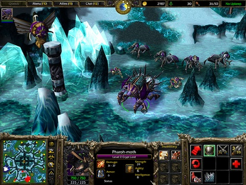 Warcraft III screenshot (481 pix)