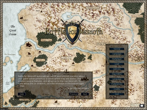 Battle for Wesnoth 1.6 screenshot (481 pix)