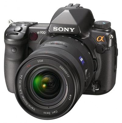Sony Alpha A900 schuin voor