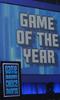 Podium tijdens Game Developers Choice Awards