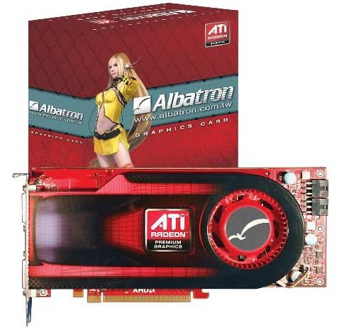 Albatron Radeon HD4890