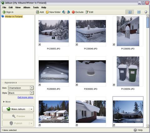 JAlbum 8.2.8 screenshot (481 pix)
