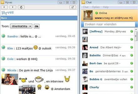 Hyves Desktop 1.0