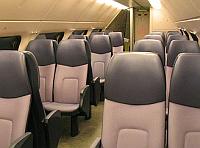 stoelen in een NS-dubbeldekker