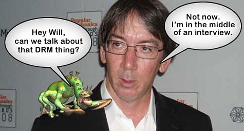 "Will Wright: ""Drm?"""