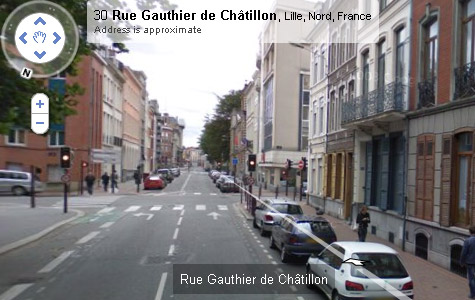 Google Street View Lille