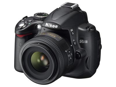 Nikon D5000 handson