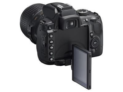 Nikon D5000 handson lcd