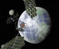zonne-energie-satelliet